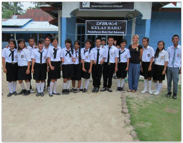 A Perfect Foundation's Collaboration Centre Mapadegat, Mentawai Islands
