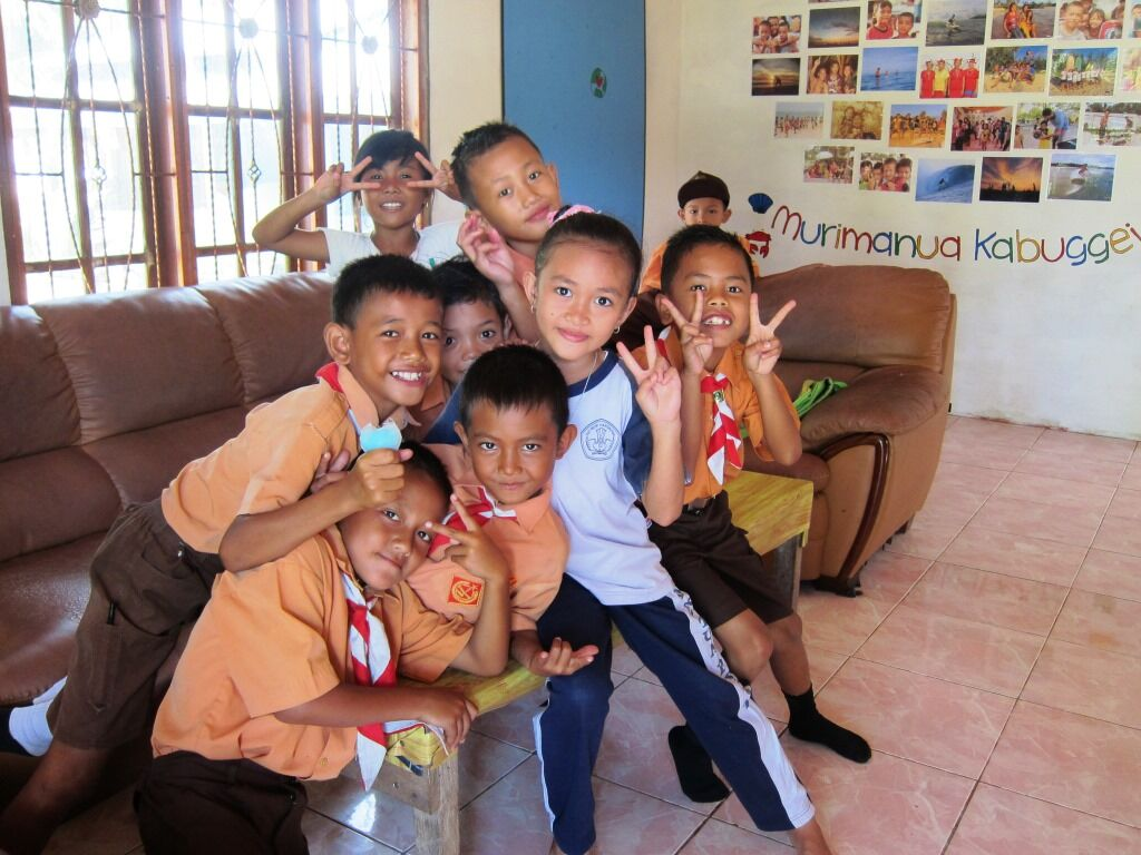 September Update: A Perfect Foundation's Collaboration Centre Mapadegat, Mentawai Islands